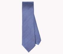 Krawatte aus reiner Seide mit Mikromuster