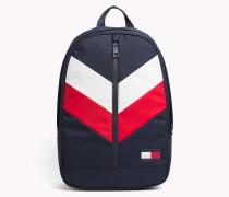 Rucksack im Tommy-Chevron-Design