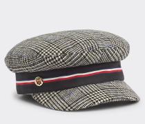 Karierte Baker Boy-Mütze