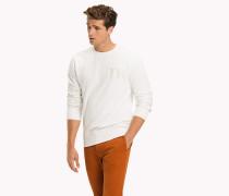 Klassisches Sweatshirt mit TH-Monogramm