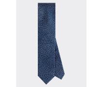 Gepunktete Krawatte aus reiner Seide