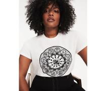 Zendaya Curve T-Shirt aus Bio-Baumwolle