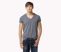 Original T-Shirt mit V-Ausschnitt