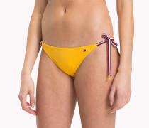 Bikinihose mit Tommy-Streifen
