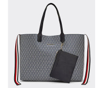 Tommy Icons Tote-Bag mit Monogramm