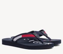 Strand-Sandale mit Logo
