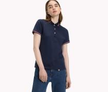 Gestreiftes Poloshirt aus Baumwolle