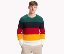 Pullover in Blockfarben mit Rundhalsausschnitt