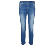 "Jeans ""Naomi Sateen"" Cropped"