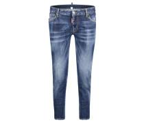 "Jeans ""Medium Waist Cropped Twiggy Jeans"" Skinny Fit"