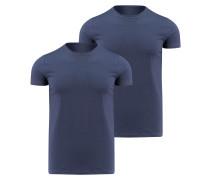 Unterhemd Kurzarm Zweierpack
