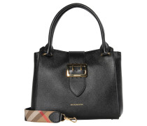 "Damen Henkeltasche ""Buckle Tote Medium"", schwarz"