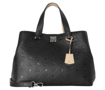 "Henkeltasche ""Essential Monogrammed Leather Tote Large"""