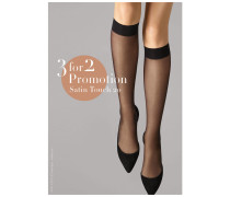 """Kniestrümpfe """"Satin Touch"""" 3 for 2 Promotion"""