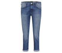 "Jeans ""Liv"" Boyfriend Fit Cropped"