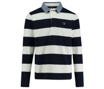 Poloshirt Regular Fit Langarm