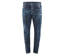 """Jeans """"Sexy Twist Midblue Denmim"""" Skinny Fit"""