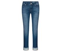 "Jeans ""Hailey Ethno"" Straight Fit verkürzt"