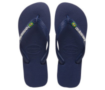 Herren Sandalen / Zehensandalen Brasil Logo, Blau