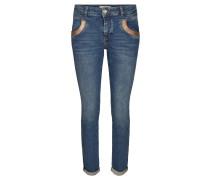"Jeans ""Naomi Cube"" Slim Fit verkürzt"