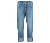 "Jeans ""The Cropped Jean - Raw Edge"" verkürzt"