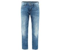 "Jeans ""Nightflight Stretch Slub Denim"" Slim Fit Regular Waist"