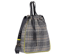 """Rucksack """"Check It Out Drawstring Backpack"""""""