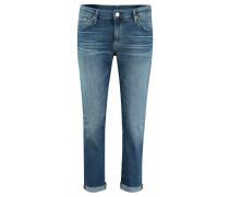 "Jeans ""New Boyfriend"" verkürzt"
