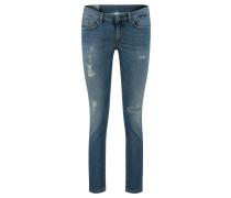 "Jeans ""Monroe"" Skinny Fit verkürzt"