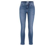 "Jeans ""Skinny"" Slim Fit verkürzt"