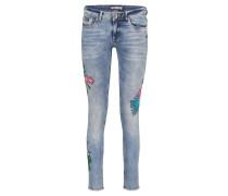 "Jeans ""Cassie"" Skinny Fit verkürzt"
