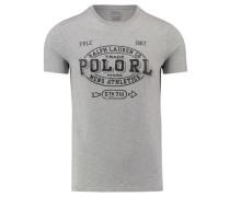 Herren T-Shirt, bleu