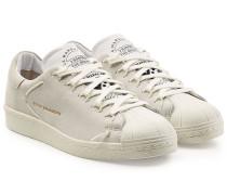 Sneakers Super Knot aus Veloursleder und Leder