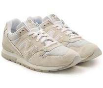 Sneakers MRL996 aus Veloursleder und Mesh