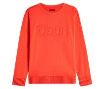 Sweatshirt Niccata aus Baumwolle mit Logo-Prägung