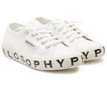 X Superga Bedruckte Sneakers