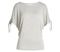 Cold-Shoulder-Shirt mit Flügelärmeln