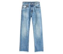 Straight Leg Jeans Bowie mit abgeschnittenem Saum