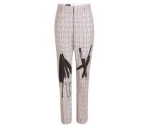 Bedruckte Pants aus Wolle
