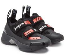 Sneakers Recovery mit Mesh und Veloursleder