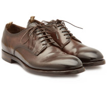 Derbies Emory aus Leder