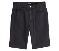 Shorts aus Denim mit Applikationen