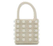 Handtasche Antonia mit Zierperlen