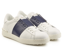 Leder-Sneakers Open