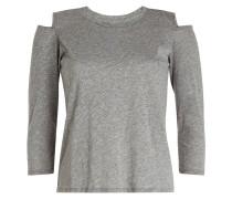 Cold Shoulder Longsleeve mit Baumwolle