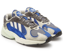 Sneakers Yung-1 aus Veloursleder und Mesh