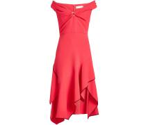 Asymmetrisches Off-Shoulder-Kleid