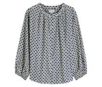Bedruckte Bluse Catalina aus Baumwolle