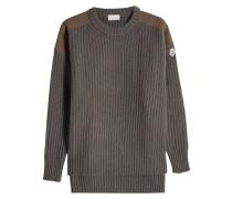 Pullover aus Wolle und Kaschmir mit Zippern