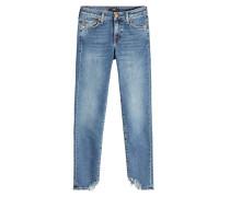 Skinny Jeans Pyper Crop mit ausgefransten Säumen